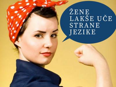 Žene lakše uče strane jezike