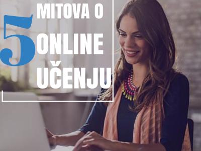 5 mitova o online učenju