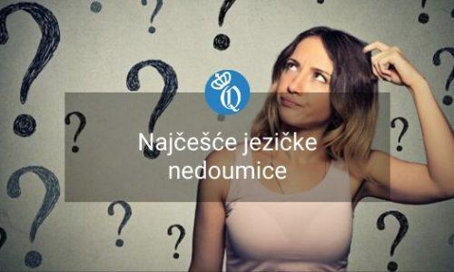 srpski jezik nedoumice