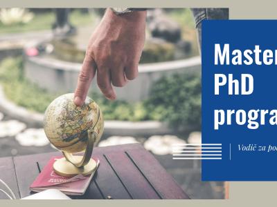 Konkurisanje na Master i PhD programe u inostranstvu – vodič za početnike