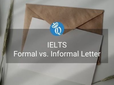 IELTS General – Formal vs. Informal Letter