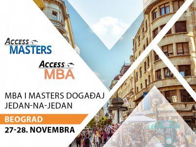 Access MBA i Masters događaj u Beogradu