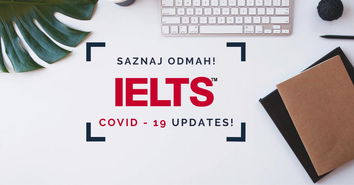 IELTS Covid-19 Updates
