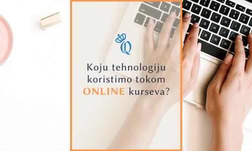 Online kursevi engleskog - tehnologija